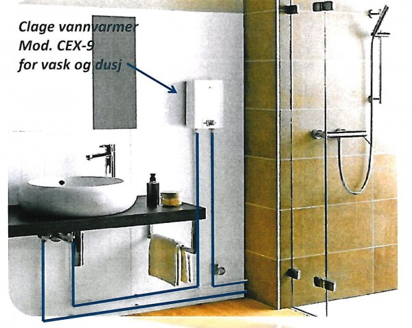 CEX for vask og dusj bilde