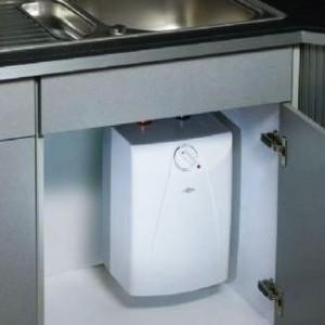 Clage S5-U under kjøkkenbenk kuttet